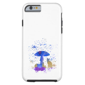 whimsical cat tough iPhone 6 case