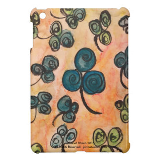 Whimsical Celtic Shamrock iPad Mini Case