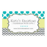 Whimsical Chevron and Dots - Custom Design
