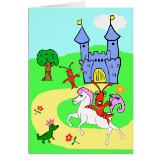 Whimsical Child's Birthday Card