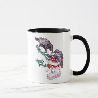 Whimsical Christmas Alaska Wildlife Coffee Mug