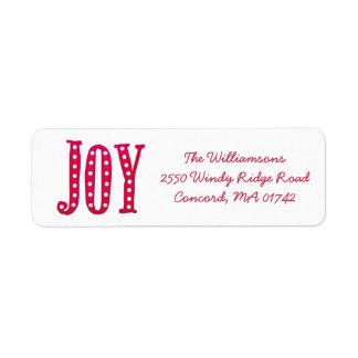 Whimsical Christmas Doodled Joy Custom