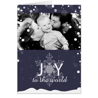 Whimsical Christmas Photo Greeting Card