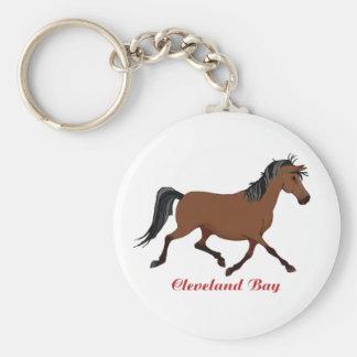Whimsical Cleveland Bay Keychain