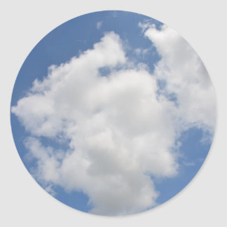 Whimsical Cloud Stickers