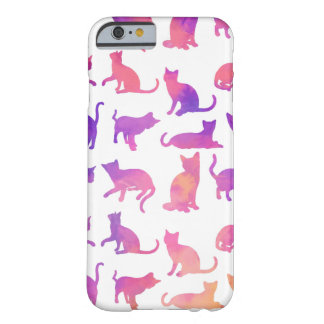 Whimsical Colorful Cats iPhone 6/6s Case