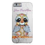 Whimsical Colourful Owl iPhone 6 Case Barely There iPhone 6 Case