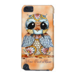 Whimsical Colourful Owl iPod Touch 5g Case
