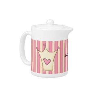 Whimsical Crown Tea Pot