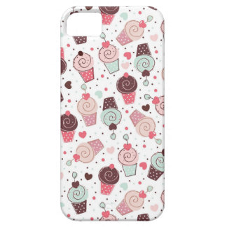 Whimsical Cupcakes Pattern iPhone 5 Case
