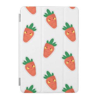 Whimsical cute chibi vegetable pattern iPad mini cover