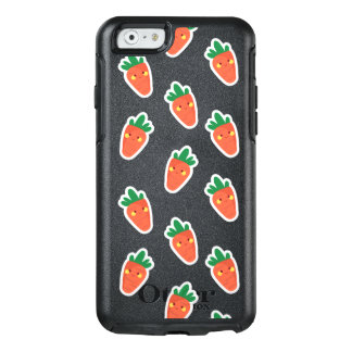 Whimsical cute chibi vegetable pattern OtterBox iPhone 6/6s case