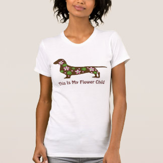 Whimsical Dachshund T-shirt