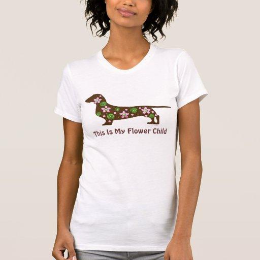 Whimsical Dachshund T-shirt