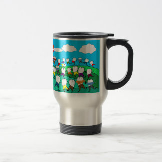 Whimsical Dental  Tooth Art Gifts Travel Mug