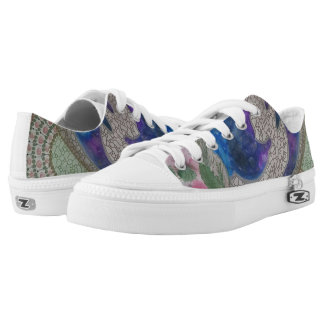 Whimsical dolphins Low-Top sneakers