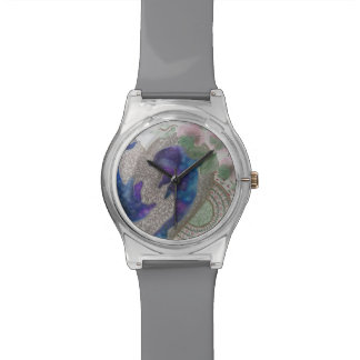 Whimsical dolphins watch