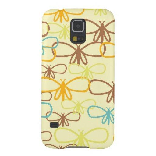 Whimsical Dragonfly Line Art Butterflies Samsung Galaxy Nexus Case
