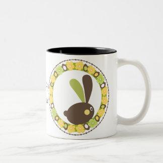 Whimsical Easter Bunny Mug