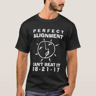 Whimsical Eclipse Perfect Alignment T-Shirt