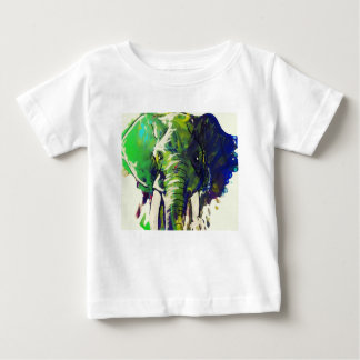 Whimsical Elephant Baby T-Shirt