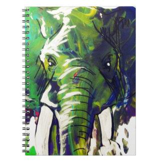 Whimsical Elephant Notebooks