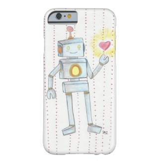 Whimsical Empathy Heart Robot'  iPhone6 Barely There iPhone 6 Case