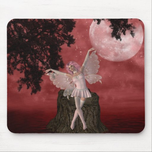 Whimsical Fairy Mouse Pad