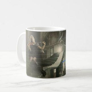 Whimsical Fantasy Piano & Violin Coffee Mug