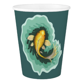 Whimsical Fish Paper Cup