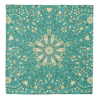 Whimsical Floral Duvet Cover