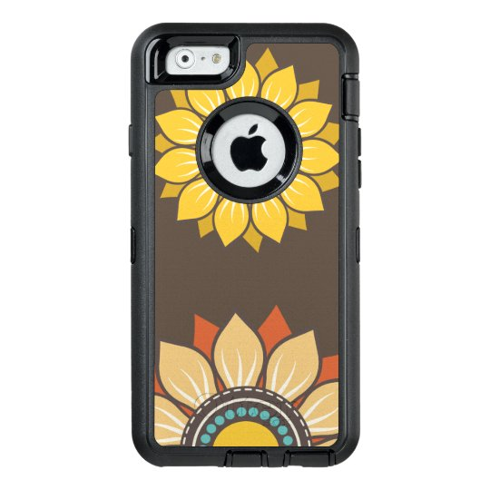 Whimsical Floral Modern Pattern OtterBox iPhone 6/6s Case