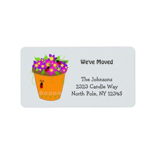 Whimsical Flower Pot New Address