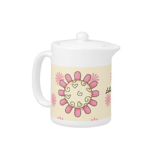 Whimsical Flower Tea Pot