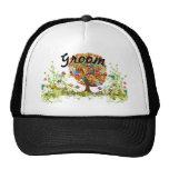 Whimsical Flower Tree Wedding Mesh Hat