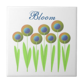 Whimsical Flowers - Bloom Tile