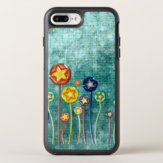 Whimsical Flowers OtterBox Symmetry iPhone 7 Plus Case