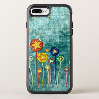 Whimsical Flowers OtterBox Symmetry iPhone 8 Plus/7 Plus Case