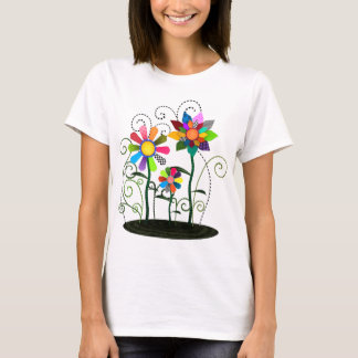 Whimsical Flowers T-Shirt