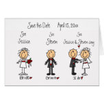 Whimsical Fun Save the Date! Greeting Cards