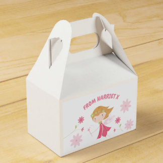 Whimsical Garden Fairy Personalised Favour Box