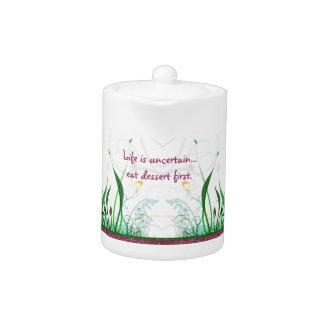 Whimsical Garden Teapots