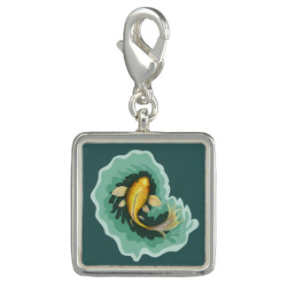 Whimsical Goldfish Koi Charm