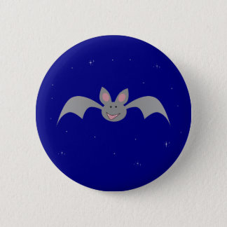 Whimsical Halloween bat 2 Inch Round Button