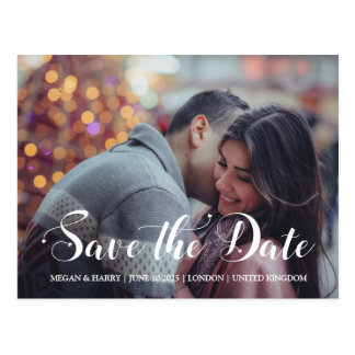 Whimsical Hearts | Save The Date Postcard