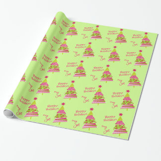 Whimsical Holiday Wrap from YOU Wrapping Paper