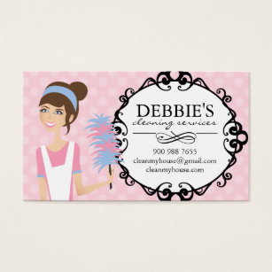 Whimsical business cards business card printing zazzle ca whimsical house cleaning services business cards colourmoves