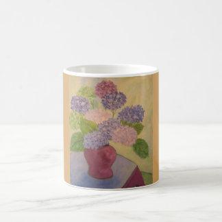 Whimsical Hydrangea Coffee Mug
