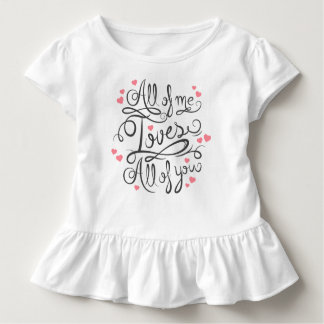 Whimsical Inspirational Love Quote | Ruffle Tee
