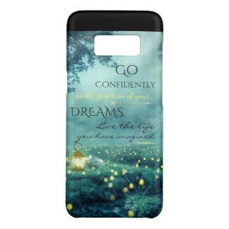 Whimsical Inspiring Dreams Quote Case-Mate Samsung Galaxy S8 Case